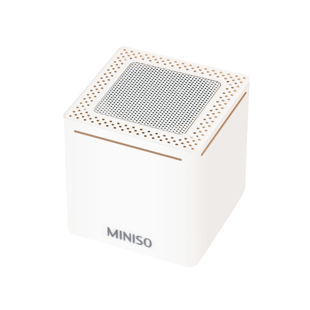 MINISO Portable Bluetooth Outdoor Speaker (White)
