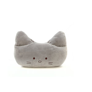 MINISO Lovely Cartoon Grey Kitty Nap Pillow