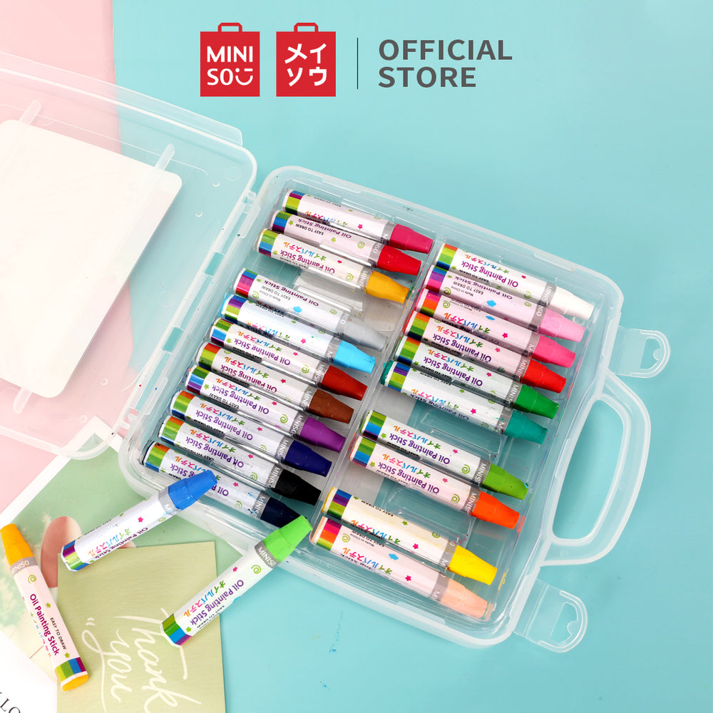 MINISO 24-Colour Oil Painting Stick