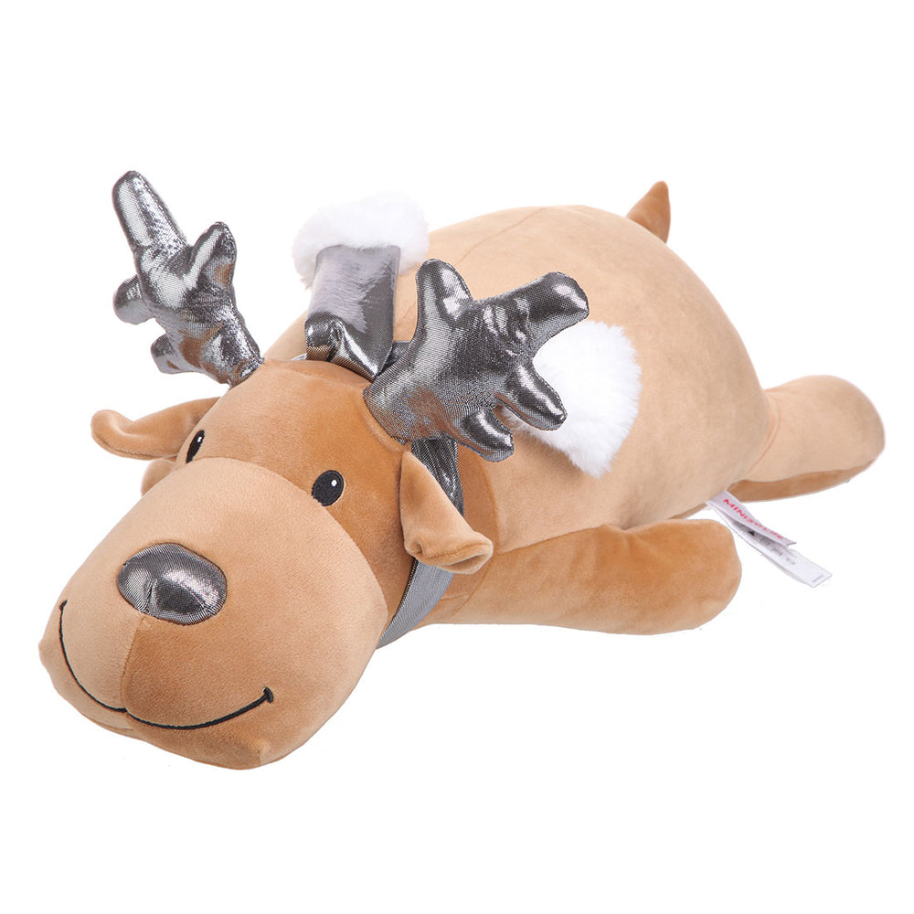 MINISO Silver Reindeer Plush Toy