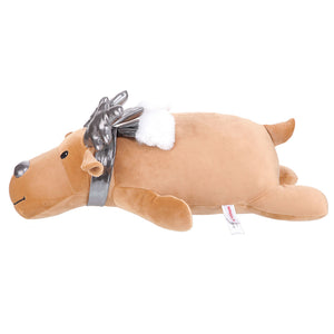 Load image into Gallery viewer, MINISO Silver Reindeer Plush Toy
