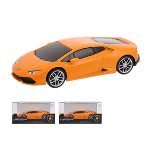 MINISO 1:32 Lamborghini LP610-4 Metal Model Toy Car with Light & Sound Gift for Children (Orange)