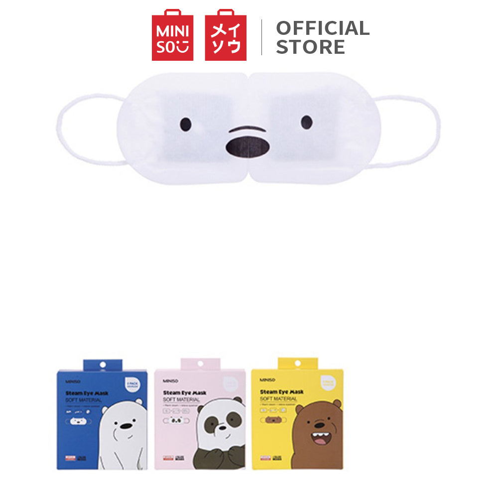 Load image into Gallery viewer, We Bare Bears Steam Eye Mask (5pcs/box)