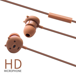 MINISO x We Bare Bears - In-Ear Headphones With Microphone