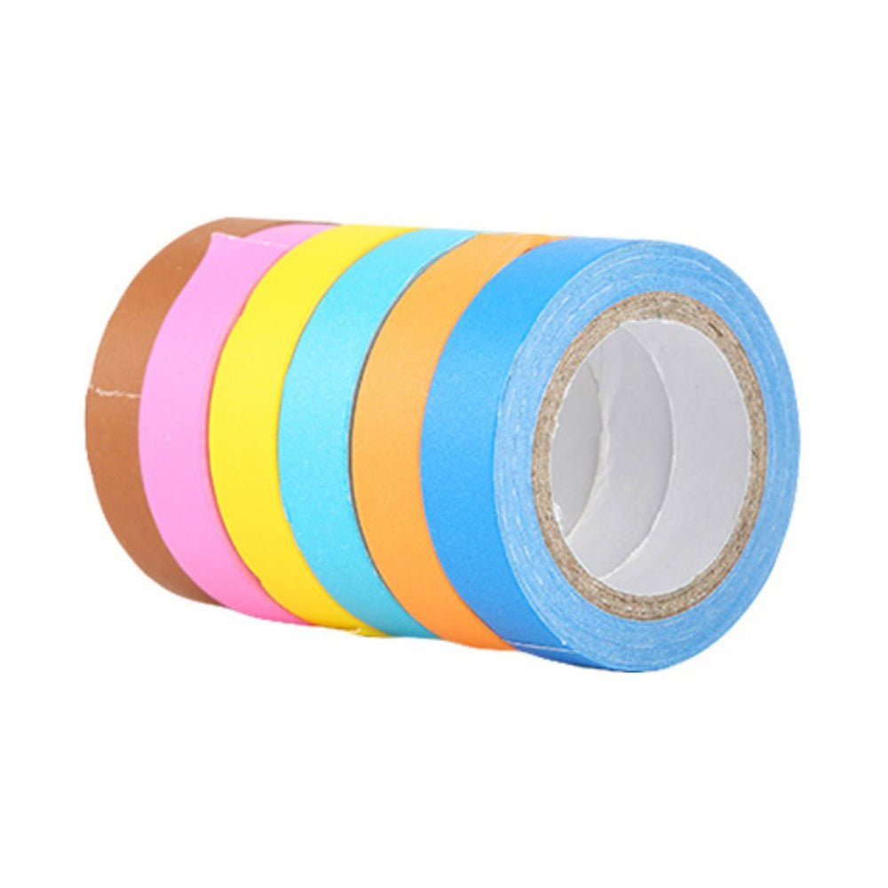 MINISO Wide and Colorful Washi Tape,12 Rolls