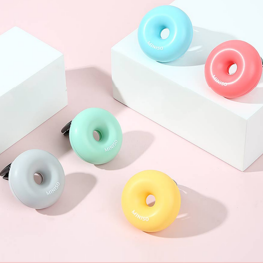 Load image into Gallery viewer, MINISO Donut Car Scent Diffuser, Random Colour