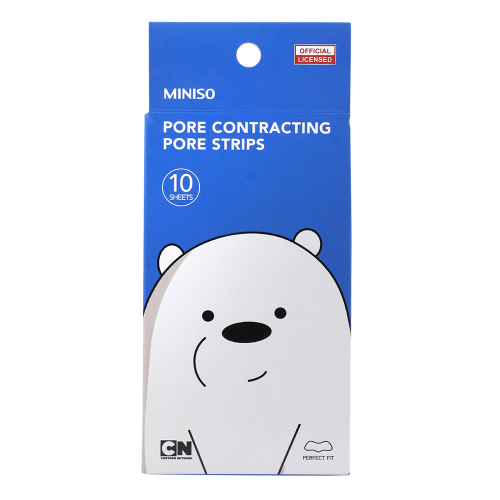 Miniso x We Bare Bears Painless Blackhead Remover Strips (Pack of 10)