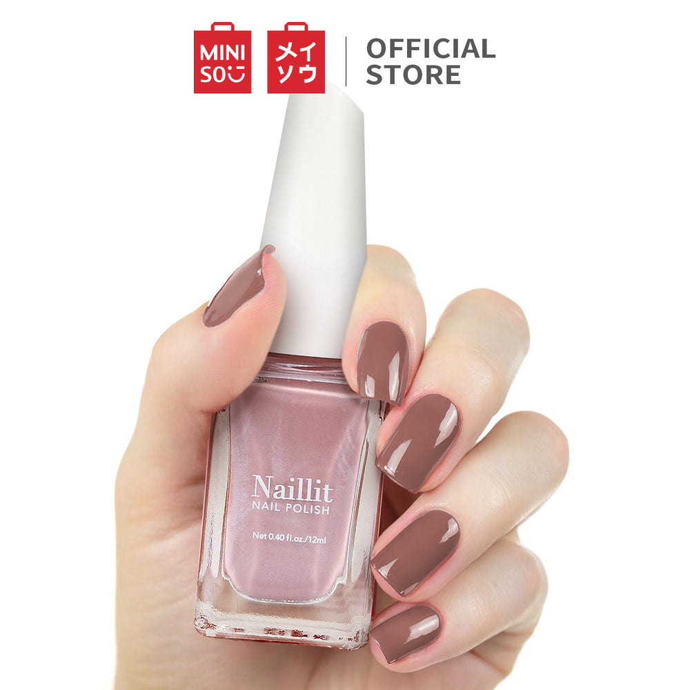 MINISO Pittura Nail Polish for Women Long Lasting Nail Paint 12ml, 05 Rosy Elf