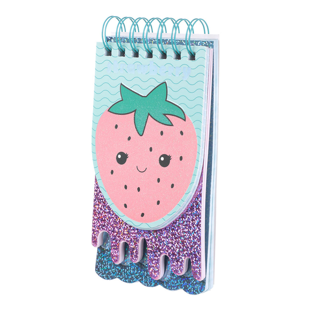 MINISO Cute Strawberry Design Note Pad