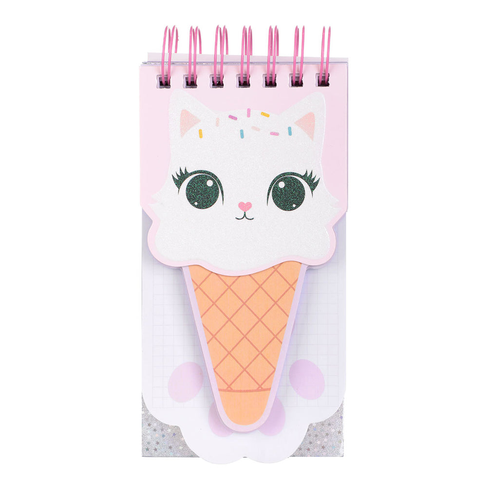 Load image into Gallery viewer, MINISO Cute Kitten Design Note Pad