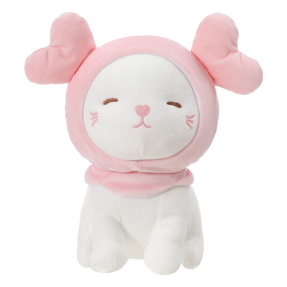 MINISO Double-Heart Kitten Plush