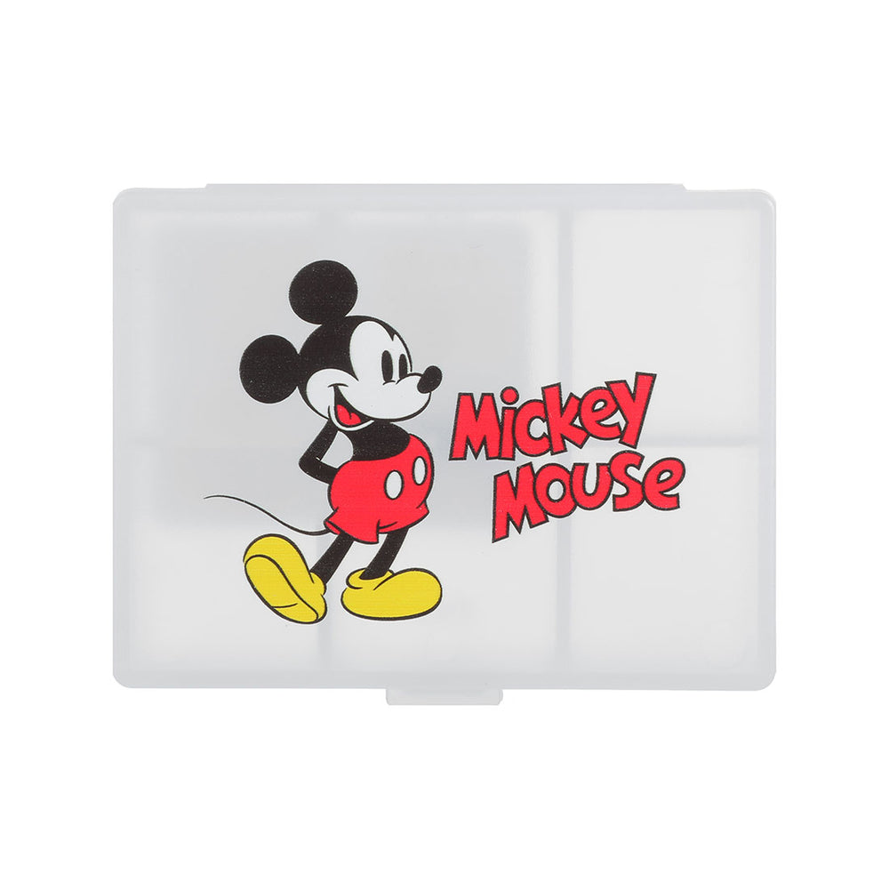 MINISO x Mickey Mouse Collection- 6-lattice Pill Box