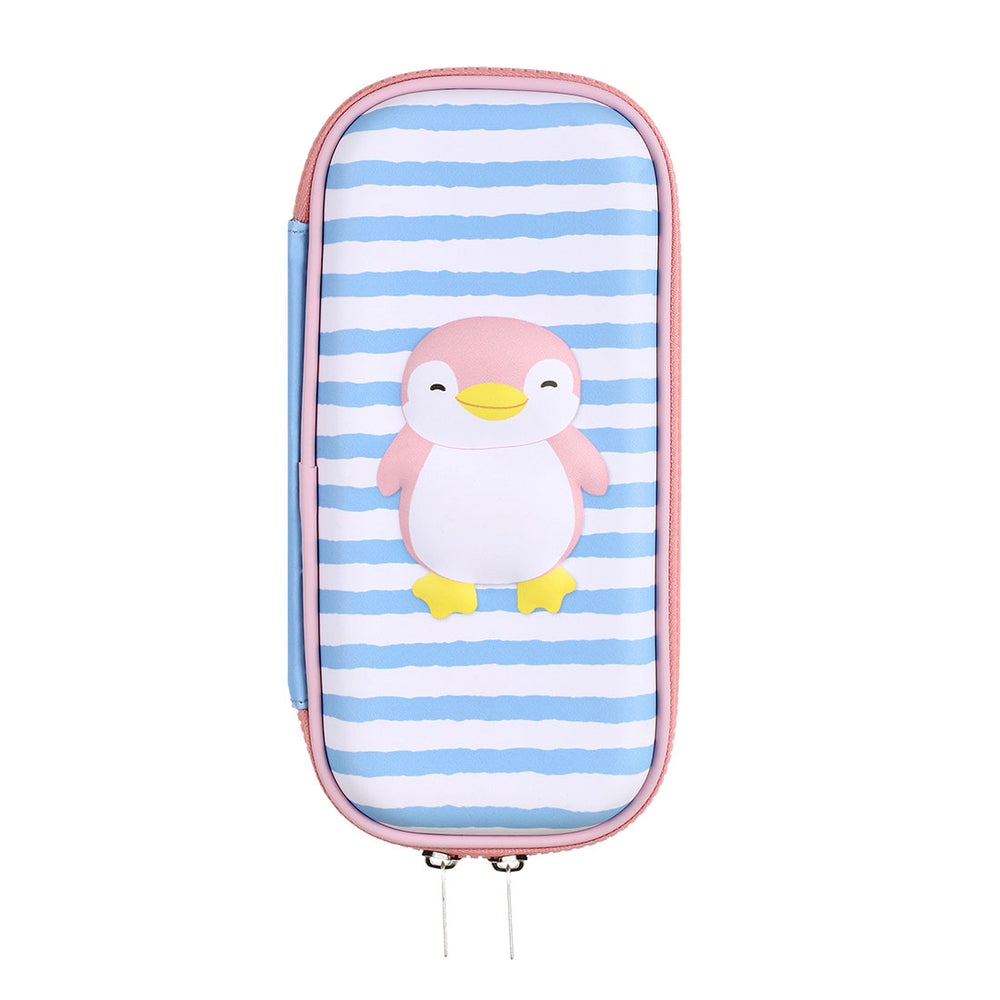 MINISO Cute Penguine Pen Bag with Zipper