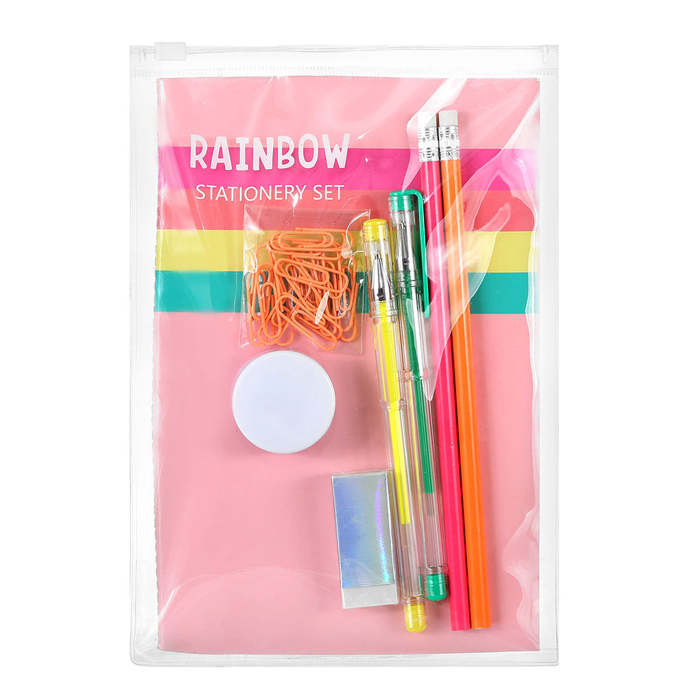 MINISO Candy Rainbow Series - Stationery Set