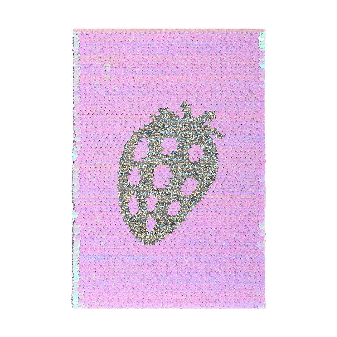 MINISO Fruit Series - Sequined Memo Book, Random Colour