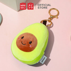 MINISO Fruit Series - Soft Cute Plushie Keychain, Avocado