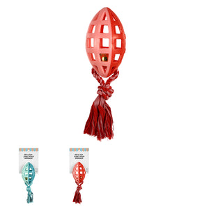MINISO Pet Series - Rugby Ball Knot Pet Toy (Assorted Colors)