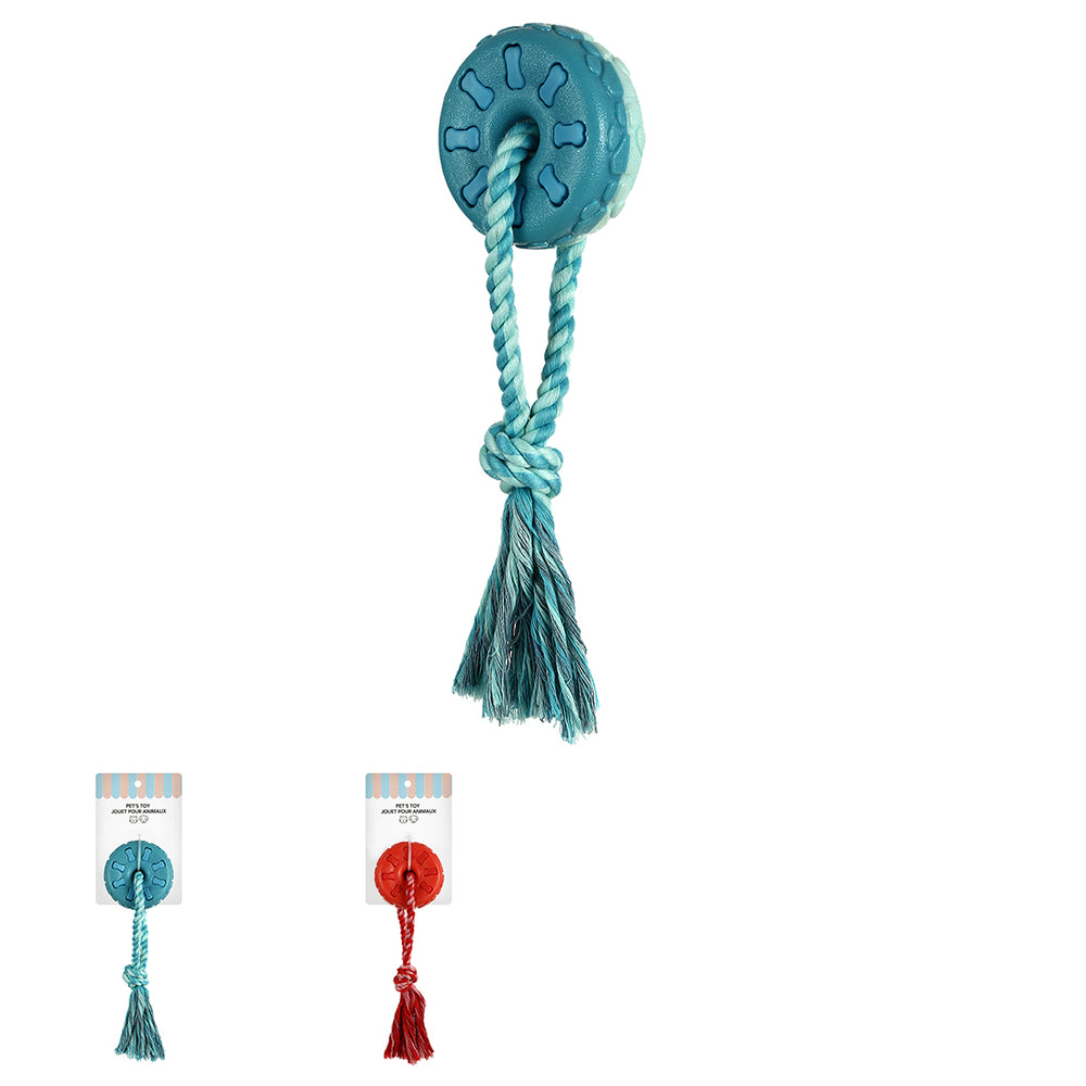 Load image into Gallery viewer, MINISO Pet Series - Tire Knot Floating Ball for Fetch (Mix Colors)