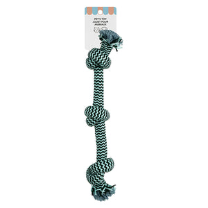 MINISO Knot Pet Toy, Mix Colors