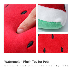 MINISO Watermelon Plush Toy for Pets