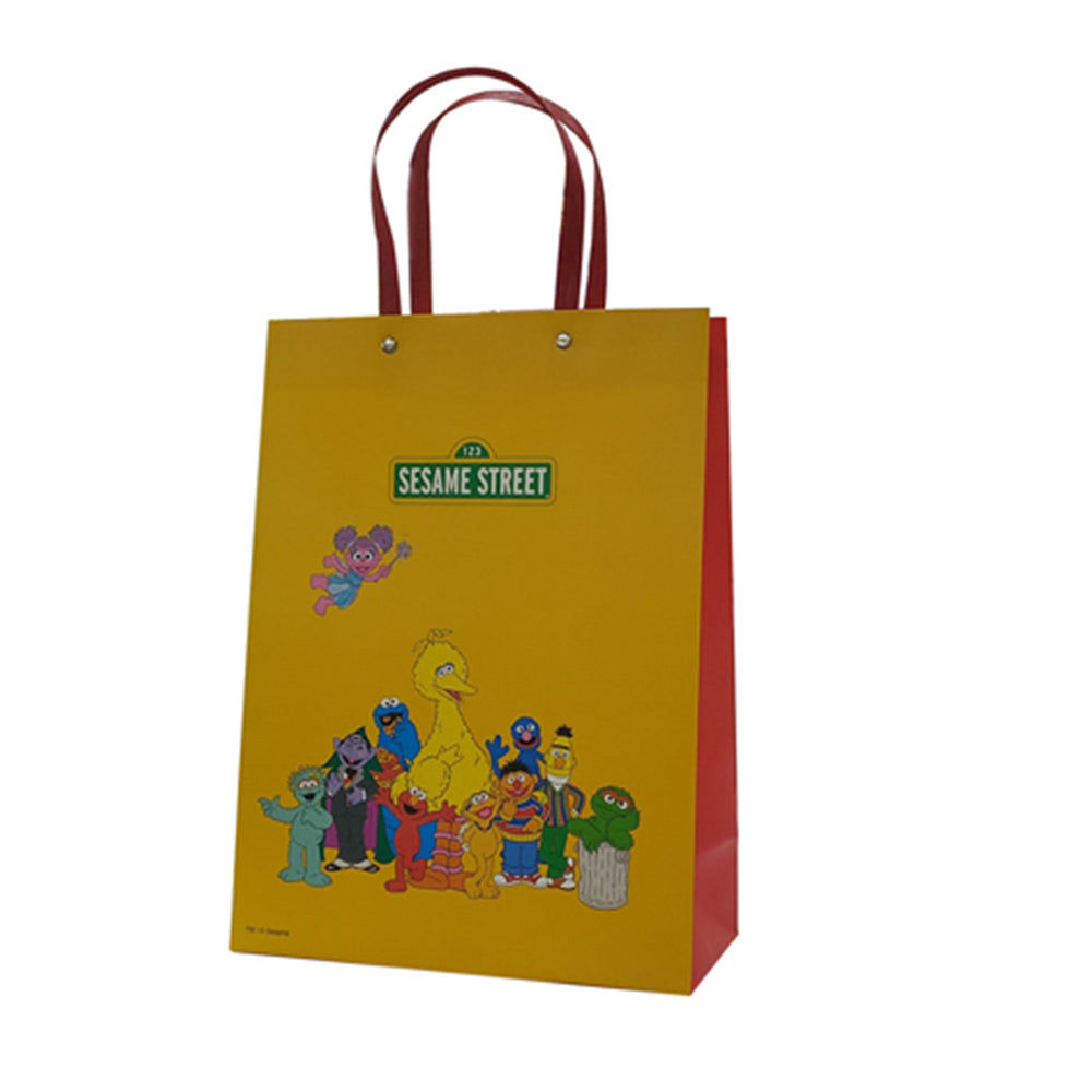 MINISO x Sesame Street - Rectangle Gift Bag Holiday Paper Bags, M