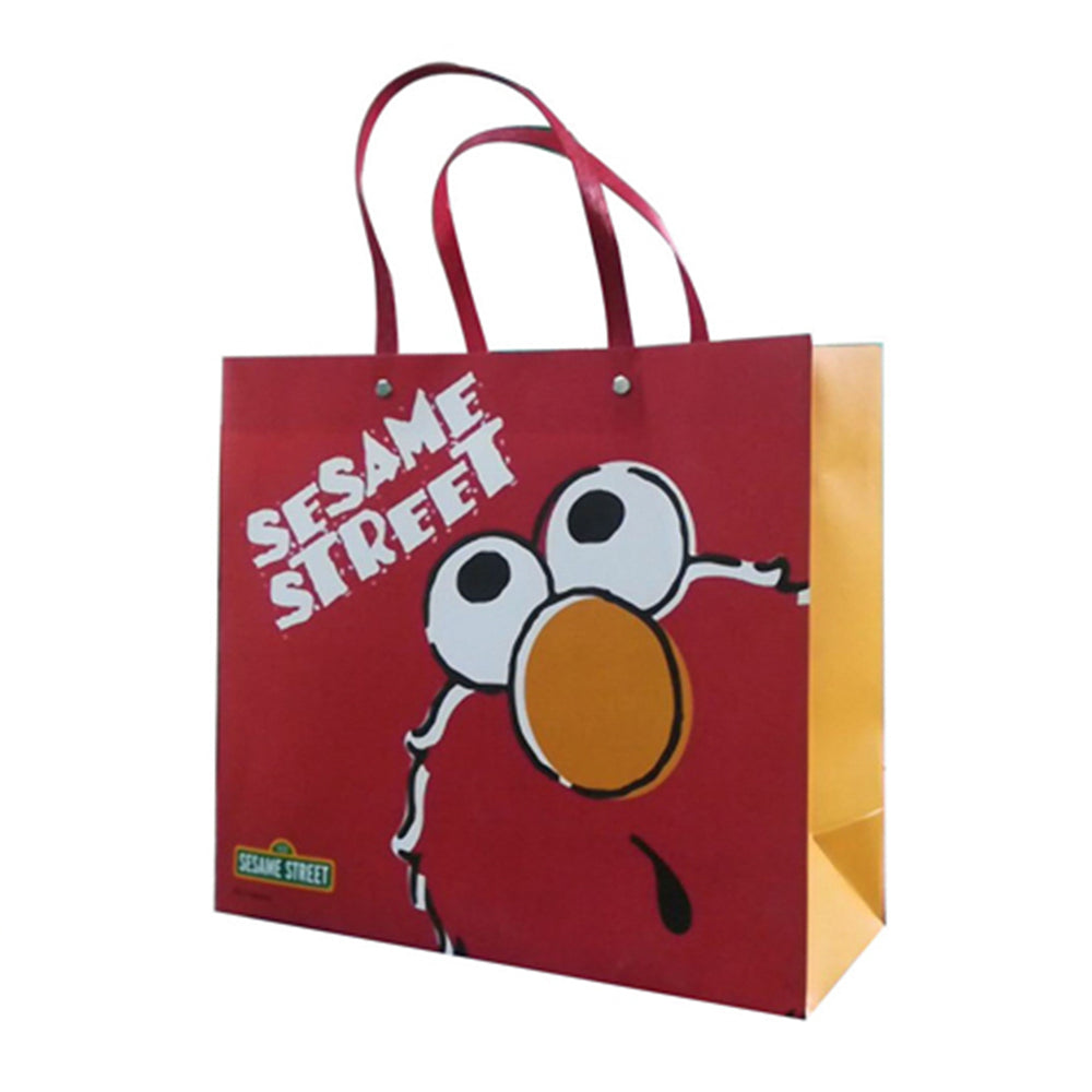 MINISO x Sesame Street - Rectangle Gift Bag Holiday Paper Bags, L