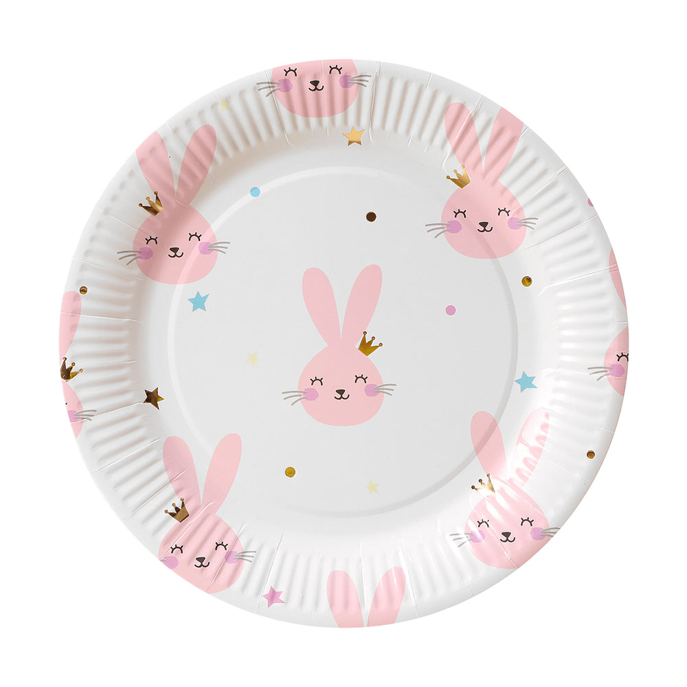 "Load image into Gallery viewer, MINISO Paper 9"" Party  Plates, 6pcs"