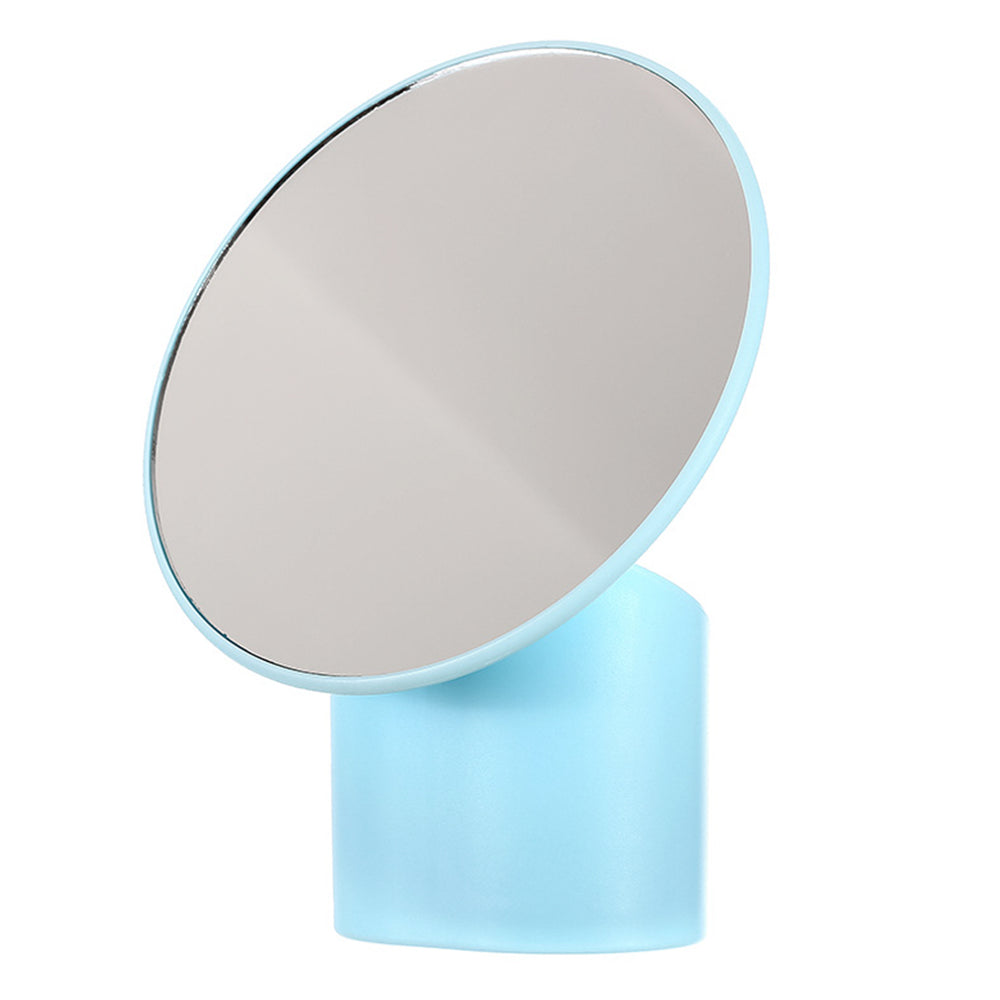 Miniso Cosmetic Mirror with Container Beauty Table Mirror Portable Makeup Mirror, Random Color