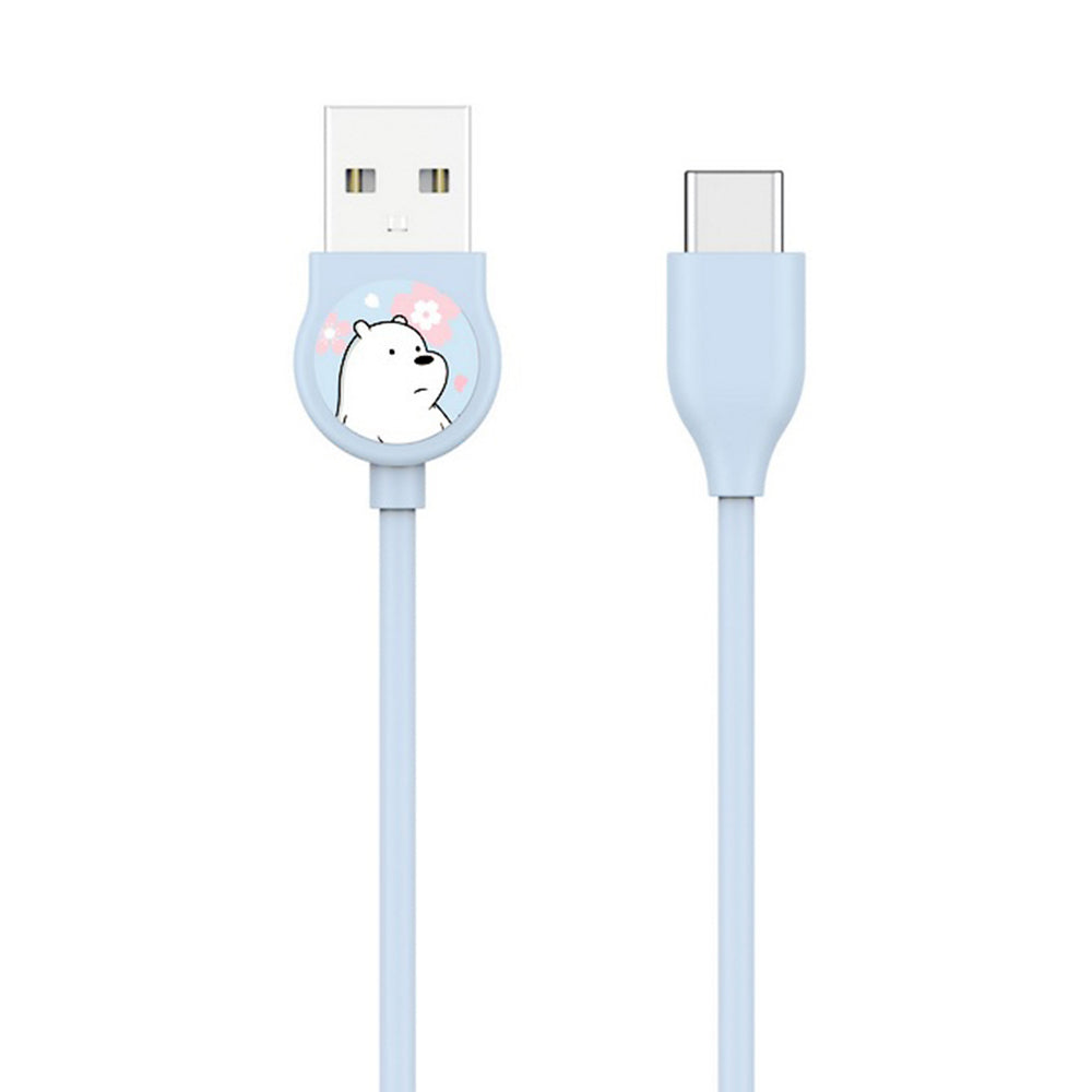MINISO x We Bare Bears - Type-C Data Cable with Fast Charging and Data Transfer