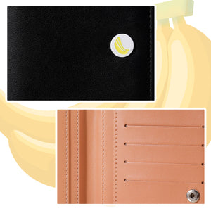 MINISO Fruit Series - Two-Fold Long Purse Wallet for Women and Girls