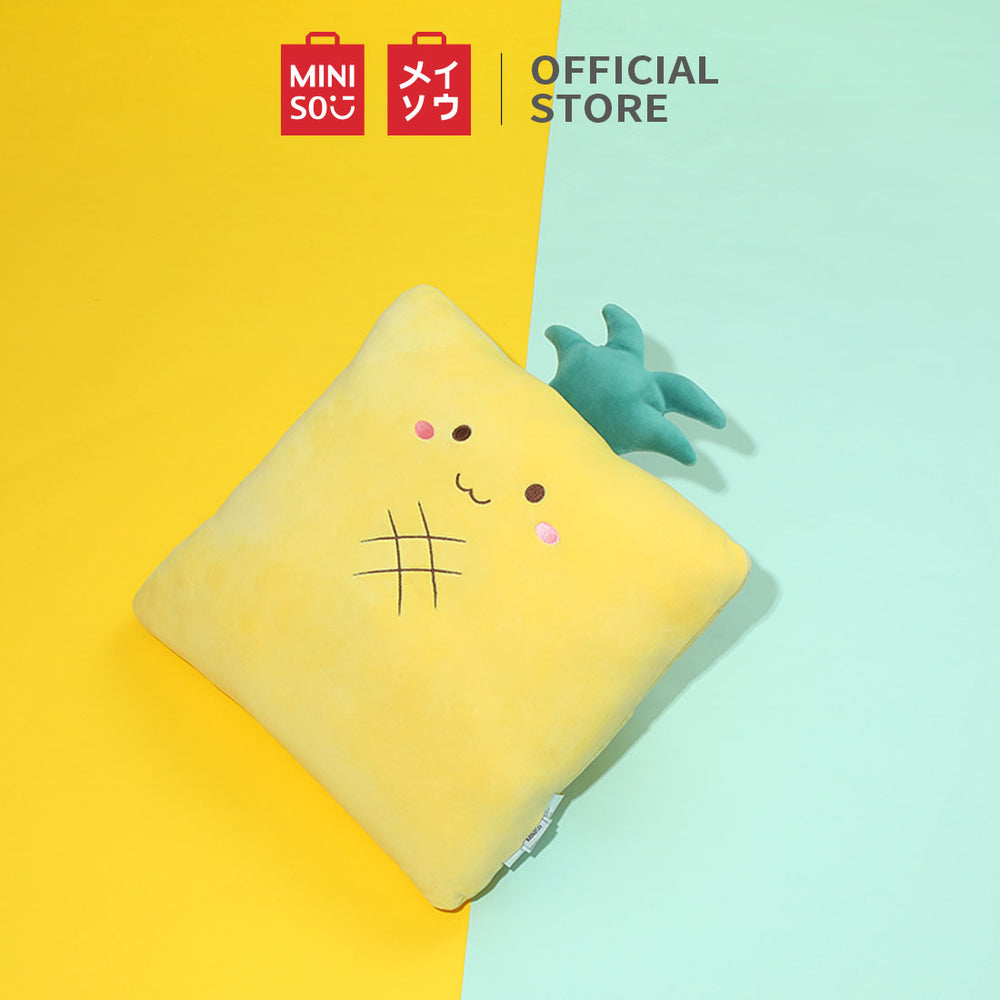 MINISO Fruit Series - Square Soft Plush Home Decor Cushion