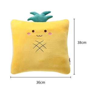 Load image into Gallery viewer, MINISO Fruit Series - Square Soft Plush Home Decor Cushion