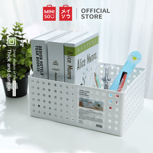 MINISO Tall Stackable Storage Box