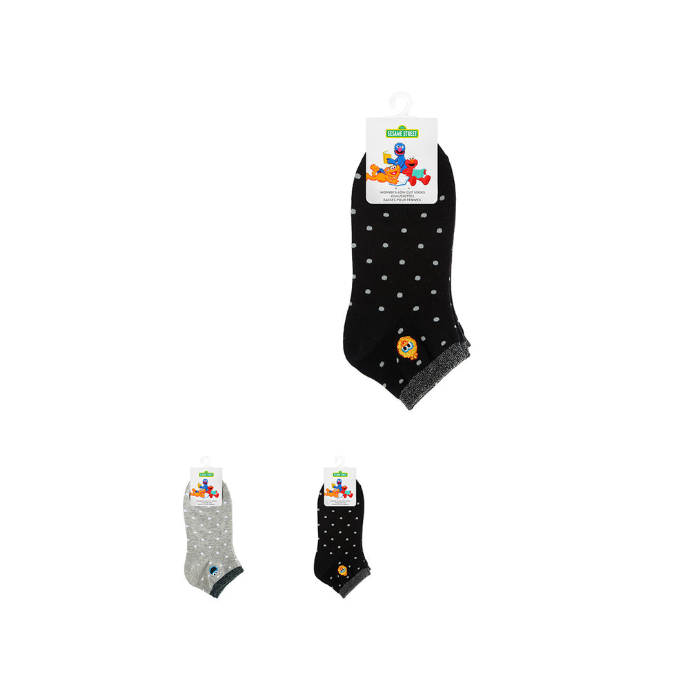 Load image into Gallery viewer, MINISO x Sesame Street - Polka Dot Low-cut Socks, Random Color