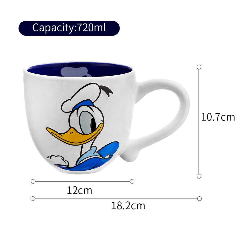 MINISO x Mickey Mouse Collection - Donald Duck Ceramic Mug, 720ml