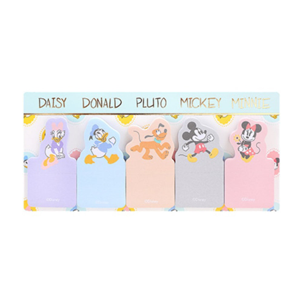 MINISO x Mickey Mouse Collection - Pastel Sticky Notes (30 Sheets)