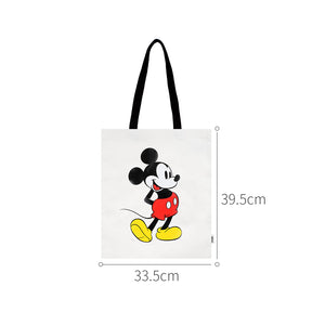 MINISO x Mickey Mouse Collection - Mickey Cartoon Tote Bag (White)