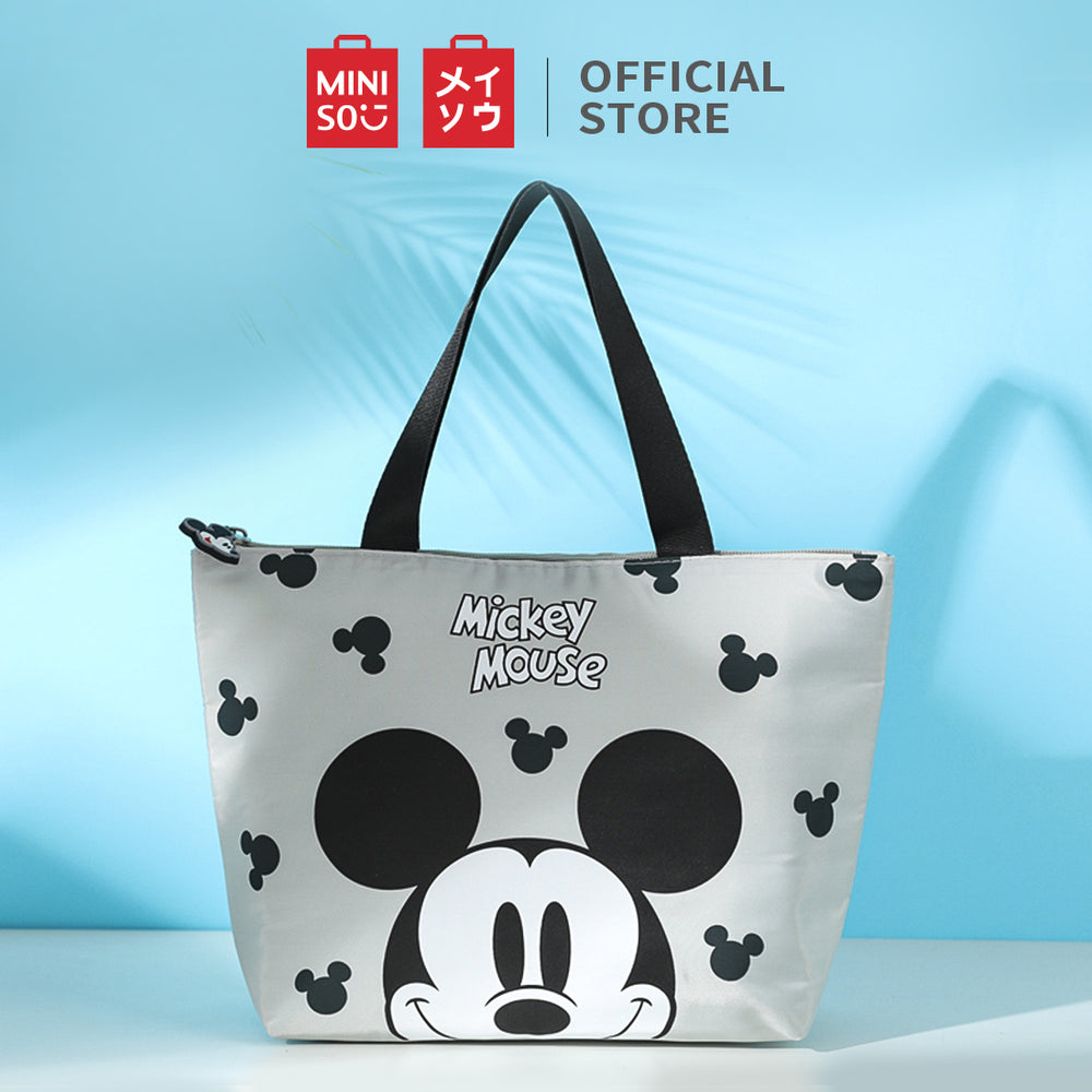MINISO x Mickey Mouse Collection - Mickey Mouse Lunch bag (Grey)