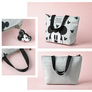 Load image into Gallery viewer, MINISO x Mickey Mouse Collection - Mickey Mouse Lunch bag (Grey)