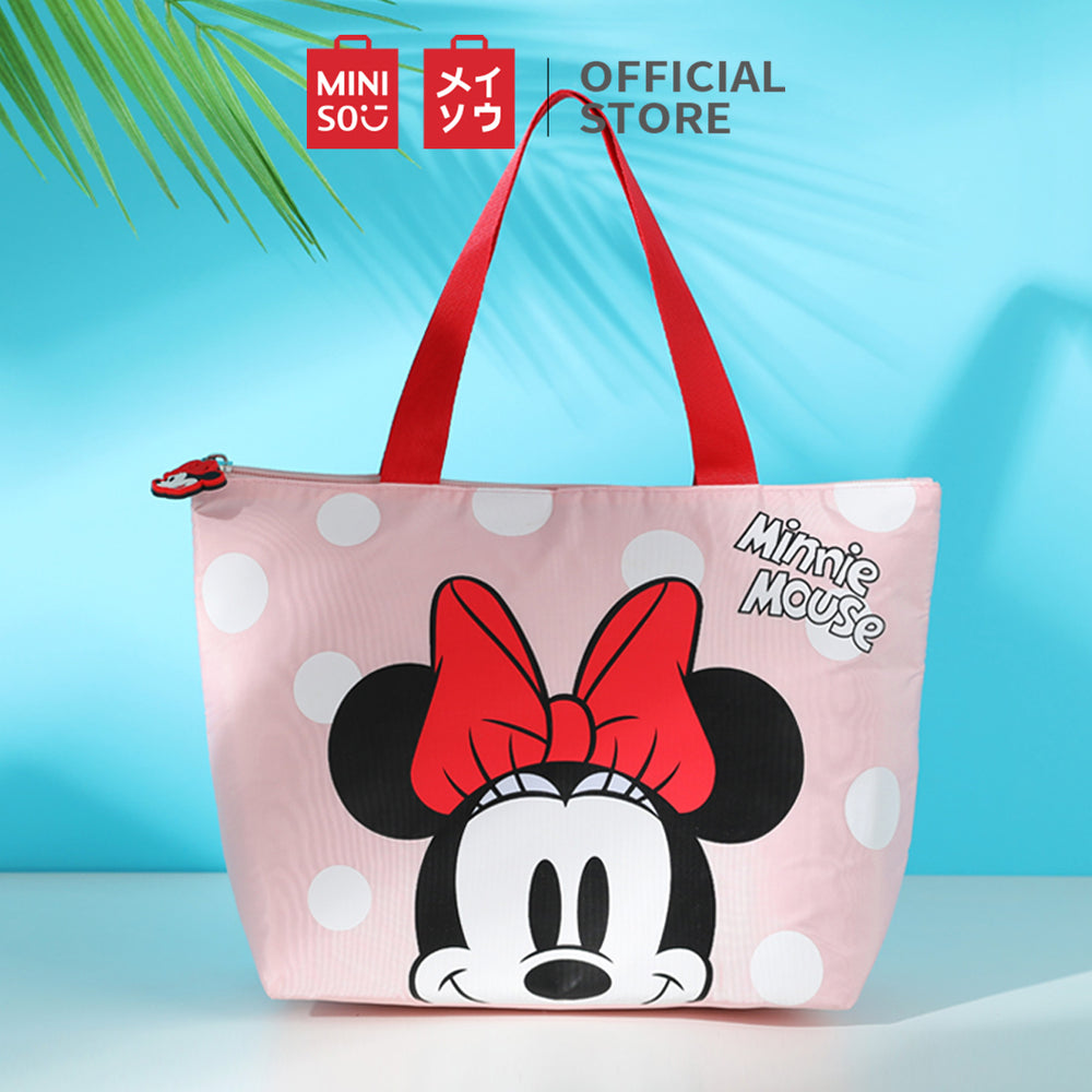 MINISO x Mickey Mouse Collection - Minnie Mouse Lunch Bag (Pink)