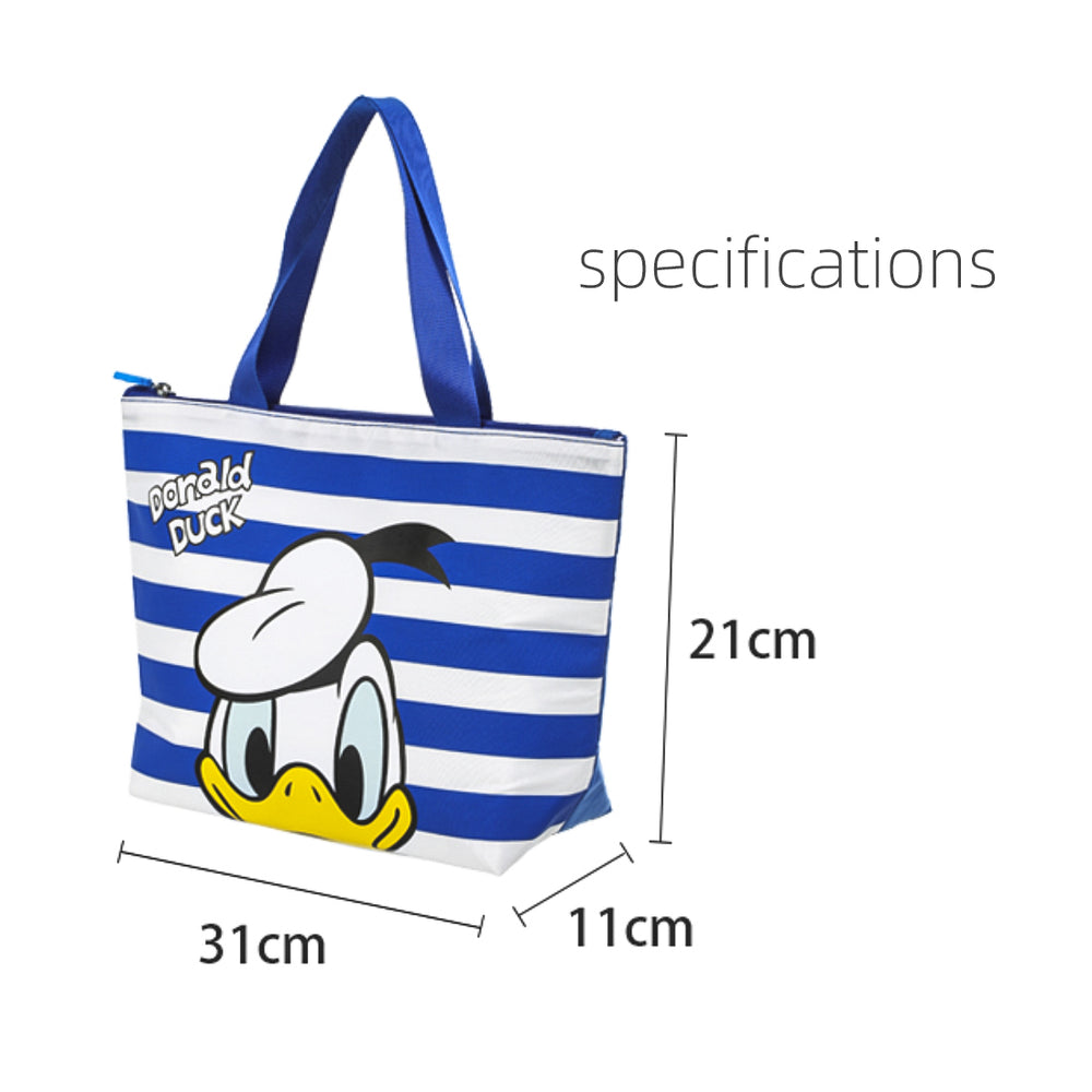 Load image into Gallery viewer, MINISO x Mickey Mouse Collection - Donald Duck Lunch Bag (Blue)