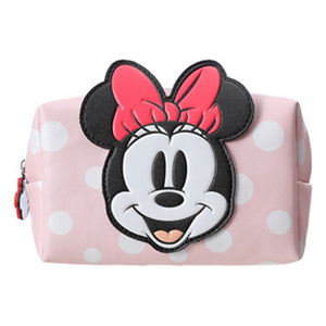 MINISO x Mickey Mouse Collection - Minnie Mouse Cosmetic Bag (Pink)