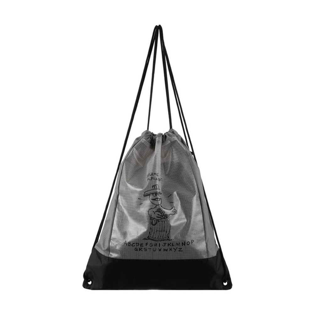 MINISO x Sesame Street - Transparent Drawstring Bag, Random Colour