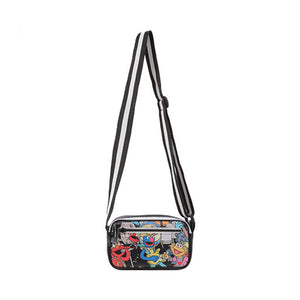 MINISO x Sesame Street - Rock Singer Crossbody Bag