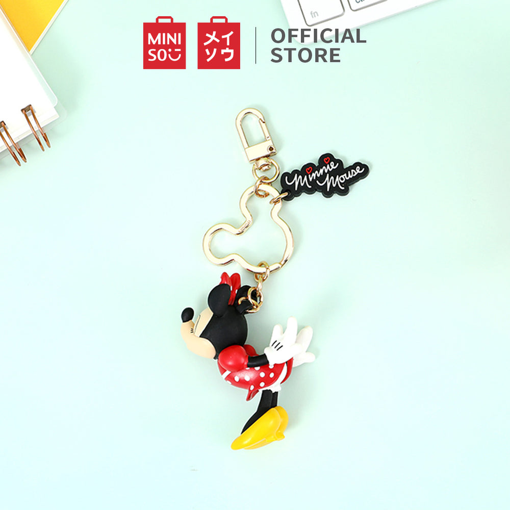 MINISO x Mickey Mouse Collection - Minnie Mouse Key Chain