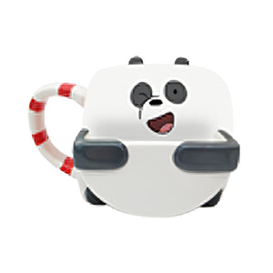 Load image into Gallery viewer, MINISO x We Bare Bear - Ceramic Cup - Panda