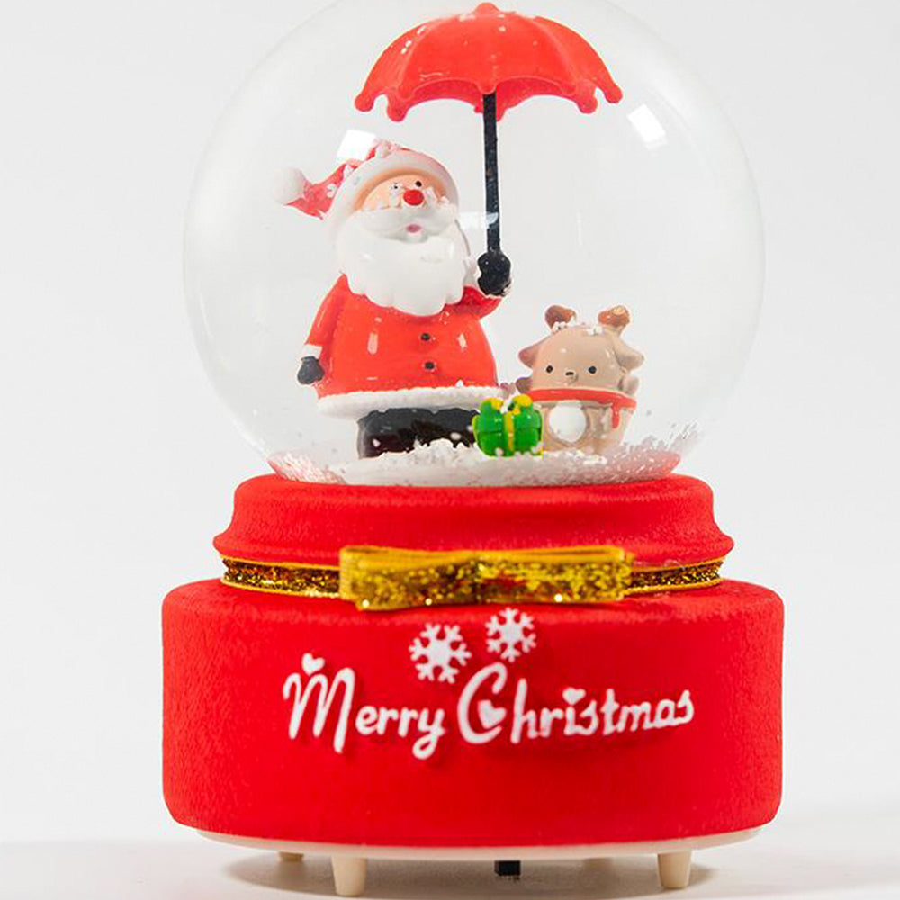 MINISO Snow Globe Music Box with LED light
