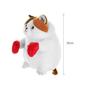 Load image into Gallery viewer, MINISO Standing Kitten Plush Toy - Boxing Cat