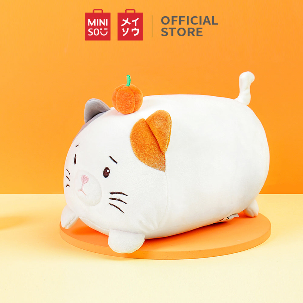 Load image into Gallery viewer, MINISO Pumpkin Kitten Plush Toy