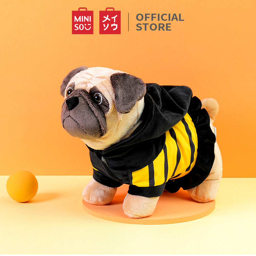 MINISO Bee Pug Plush Toy Cute